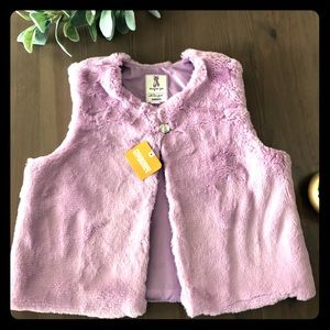 Gymboree Girls Fuzzy Vest